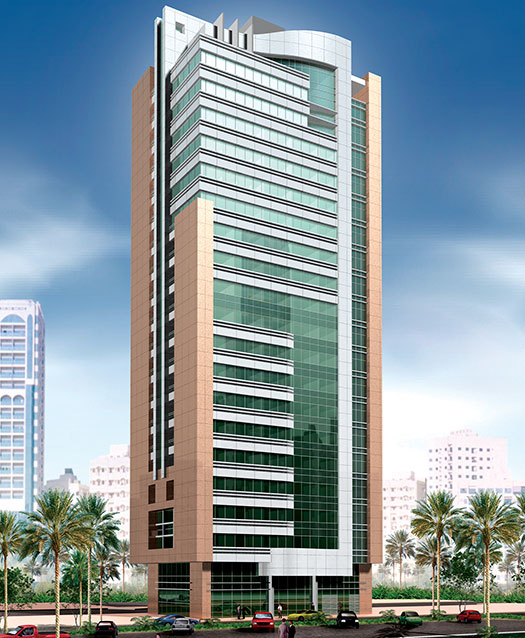 Commercial Building, Bin Hashed Tower, Abu Dhabi