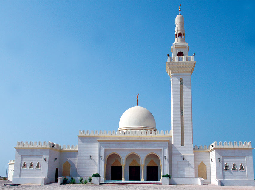 6 Mosques for 200 Prayeres